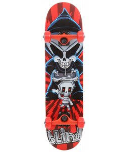Blind Controller Skateboard Complete Red