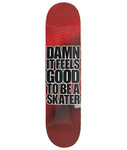 Blind Damn SS Skateboard Halftone 7.6in