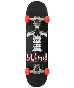 Blind Eternal Cross Youth Mid Skateboard Complete Black 7.3in