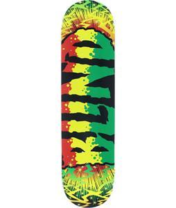 Blind Groovy Rasta Fade Skateboard Deck