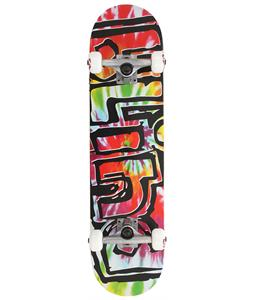 Blind Heady Tie Dye Skateboard Complete Multi 7.7in