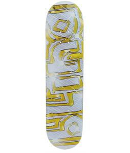 Blind Lotto SS Skateboard White/Gold
