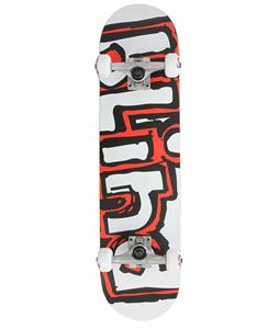 Blind Matte OG Logo Skateboard Complete White/Red 7.7in