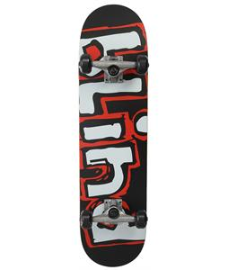 Blind Matte OG Logo Skateboard Complete Black/Red 8in