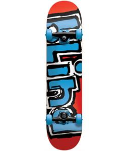 Blind Matte OG Logo Skateboard Complete Red/Blue 7.7in