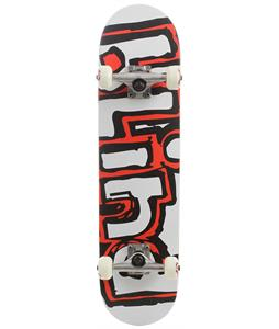 Blind Matte Og Logo Skateboard Complete White/Red