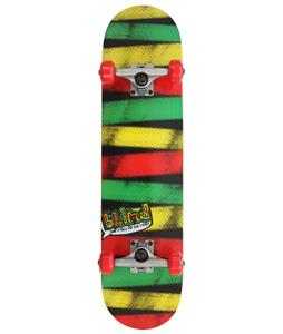 Blind Rasta Stripes Skateboard Complete Rasta 7.75in