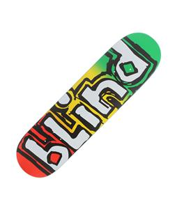 Blind Rasta OG SS Skateboard Rasta