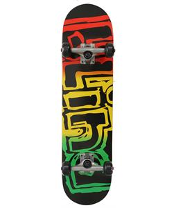 Blind Rasta Youth Mid Skateboard Complete Rasta 7.3in