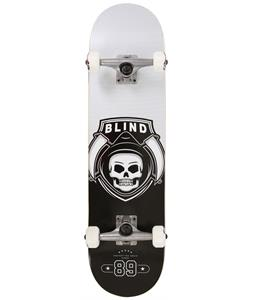 Blind Reaper Raider Skateboard Complete Black/Silver 8in