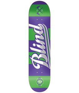 Blind Rugby SS Skateboard Purple/Green 8.0in