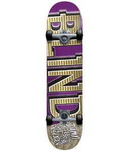 Blind Varsity Skateboard Complete Purple/Gold 7.6in
