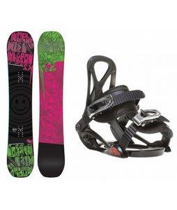 K2 WWW Rocker Snowboard w/ Sapient Prodigy Bindings Black