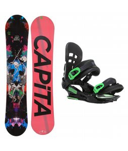 Capita Mindblower LTD Snowboard w/ Union Flite Pro Bindings