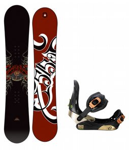 5150 Vice Snowboard w/ Morrow Invasion Bindings Black