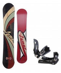Lamar Blazer Snowboard w/ Lamar MX30 Bindings Black