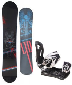 LTD Quest Snowboard w/ LTD LT35 Bindings Black