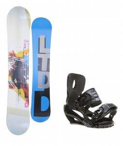 LTD Venom Snowboard w/ Sapient Stash Bindings Black/Charcoal