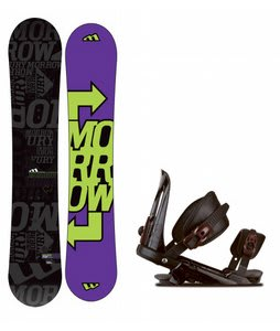 Morrow Fury Snowboard w/ Rossignol Cobra V1 Bindings Black