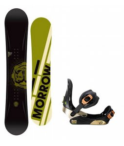 Morrow Radium Snowboard w/ Morrow Invasion Bindings Black
