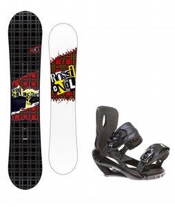Rossignol Contrast Snowboard w/ Sapient Wisdom Bindings Black