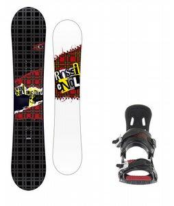 Rossignol Contrast Snowboard w/ 5150 Exo Bindings Black