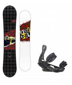 Rossignol Contrast Snowboard w/ Burton P1.1 Bindings Black