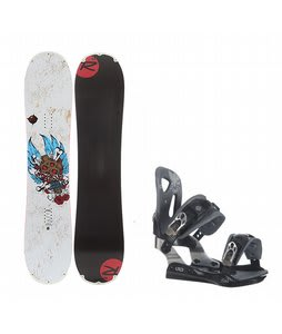 Rossignol Hellraiser Mini w/ LTD LT25 Bindings Black