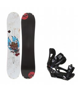 Rossignol Hellraiser Mini w/ LTD LT250 Bindings Black