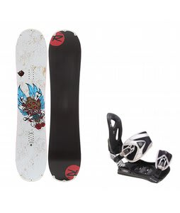 Rossignol Hellraiser Mini w/ LTD LT35 Bindings Black