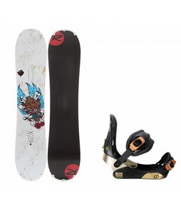 Rossignol Hellraiser Mini w/ Morrow Invasion Bindings Black