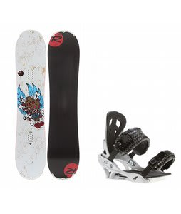 Rossignol Hellraiser Mini w/ Arctic Edge Team Bindings Silver