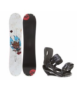 Rossignol Hellraiser Mini w/ Sapient Wisdom Bindings Black