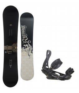 Rossignol Sultan Snowboard w/ Burton P1.1 Bindings Black