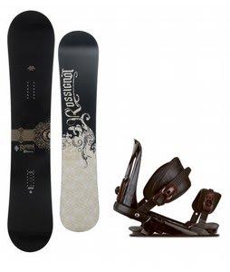 Rossignol Sultan Snowboard w/ Rossignol Cobra V1 Bindings Black
