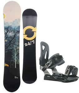 Twenty Four/Seven Highway Snowboard w/ Lamar MX25 Bindings