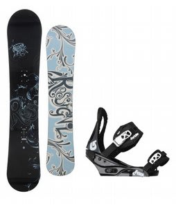Rossignol Reserve Snowboard w/Burton Citizen Bindings Black