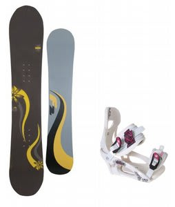 F2 Gipsy Snowboard w/LTD LT250 Bindings