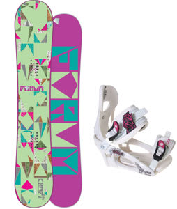 Forum Craft Snowboard w/LTD LT250 Bindings