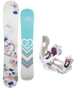 Forum Luxirie Snowboard w/LTD LT250 Bindings
