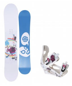 Santa Cruz Suave Eyes Snowboard w/LTD LT250 Bindings