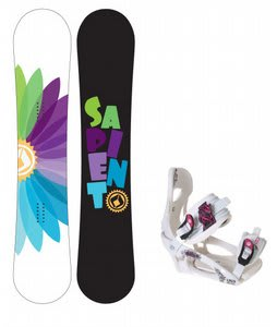 Sapient Color Wheel Snowboard w/LTD LT250 Bindings