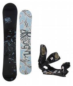 Rossignol Reserve Snowboard w/Technine Suerte Bindings Black