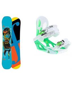 Forum Youngblood Double Dog Snowboard w/ K2 Hurithane Bindings
