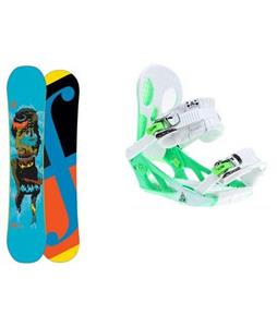 Forum Youngblood Double Dog Wide Snowboard w/ K2 Hurithane Bindings