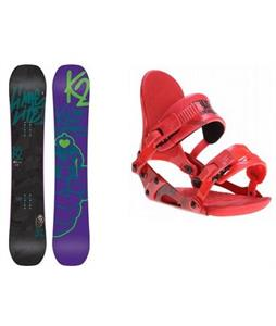 K2 Lime Lite Snowboard w/ Ride VXN Bindings