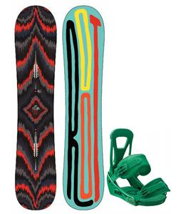 Burton Root Snowboard w/ Freestyle Bindings