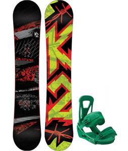 K2 Brigade Snowboard w/ Burton Custom Bindings