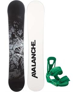 Avalanche Crest Snowboard w/ Burton Freestyle Bindings