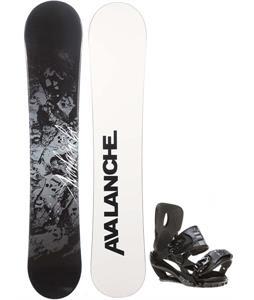 Avalanche Crest Snowboard w/ Sapient Stash Bindings